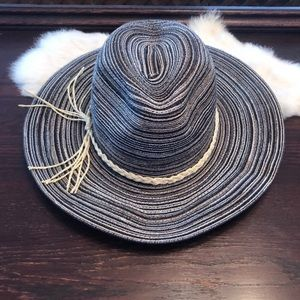 NWOT Floppy Straw Hat